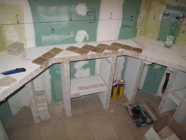 Salle de bain en travertin - 40 messages