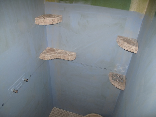salle de bain en travertin - 40 messages - Beton Cellulaire Salle De Bain