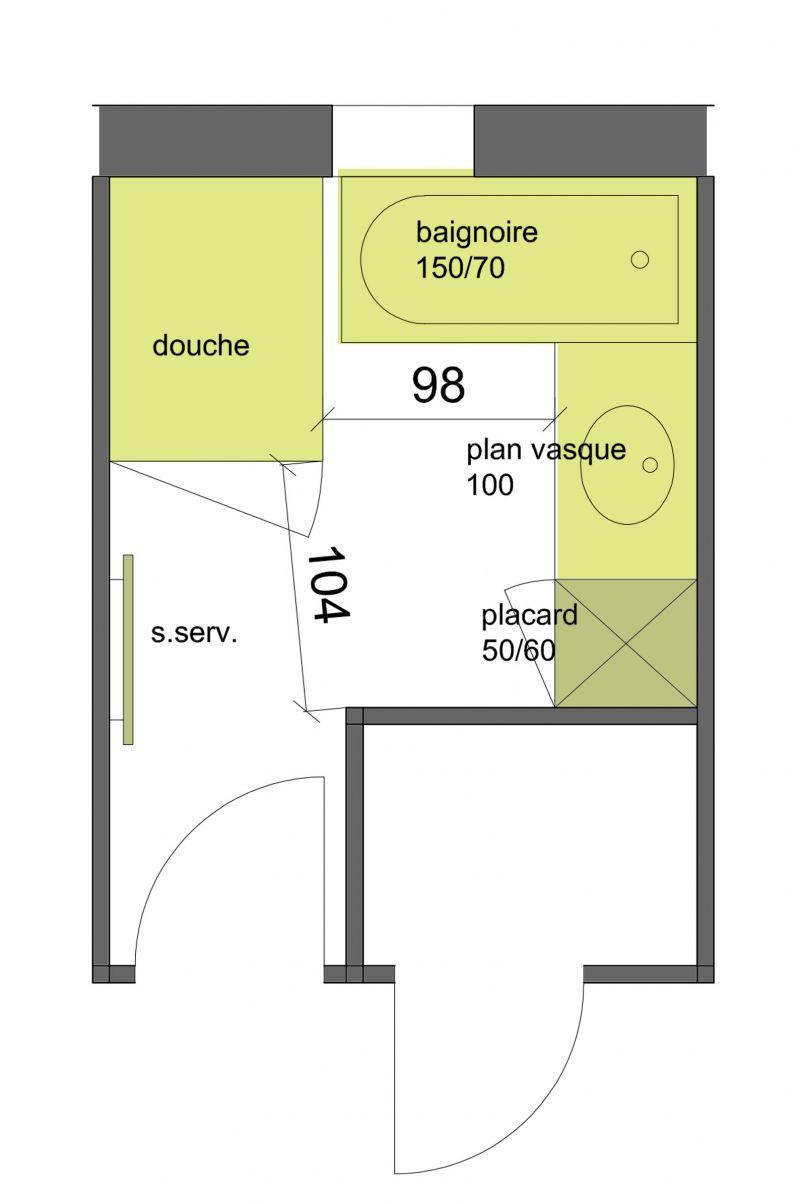 avis plan de salle de bain douche baignoire r solu 36 messages. Black Bedroom Furniture Sets. Home Design Ideas