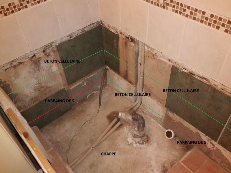 Rénovation coin baignoire