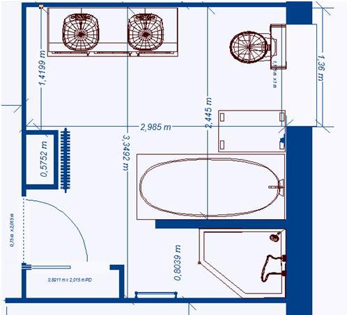 stunning taille grande salle de bain contemporary. Black Bedroom Furniture Sets. Home Design Ideas