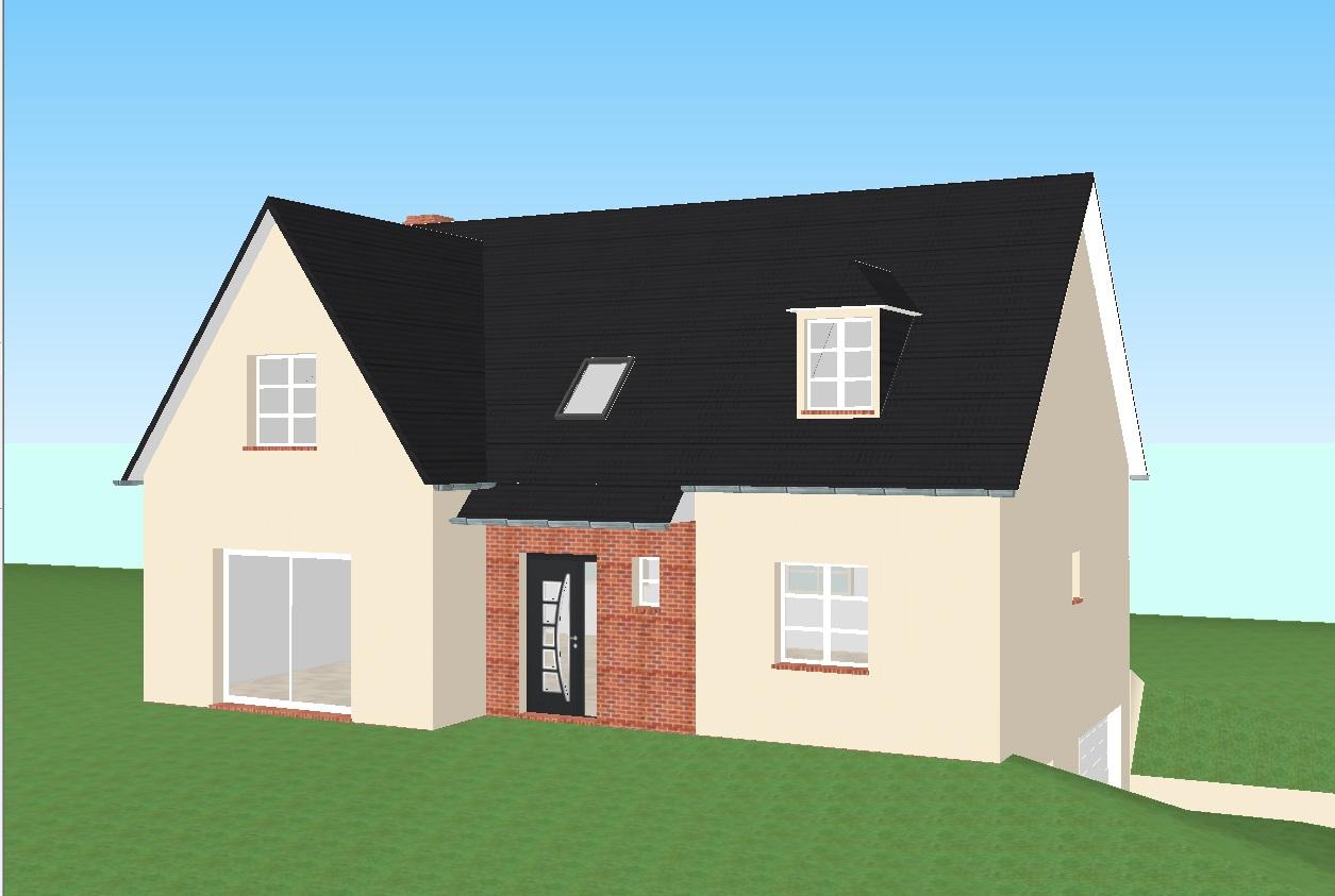 Suggestions pour am liorer ce plan et implantation de - Simulation plan maison ...