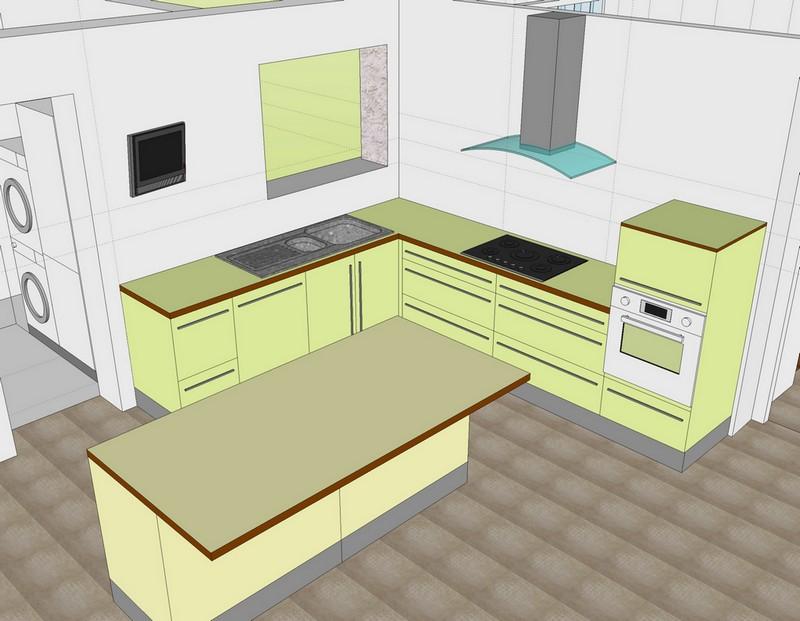 Taille de votre cuisine 40 messages page 2 for Taille plan de travail cuisine