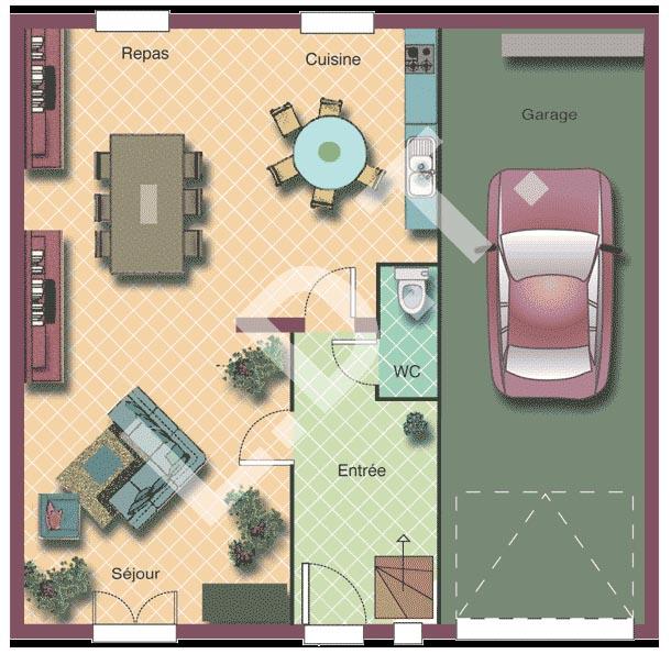 Pour vous quelle est la taille id ale d 39 un garage 95 for Taille garage