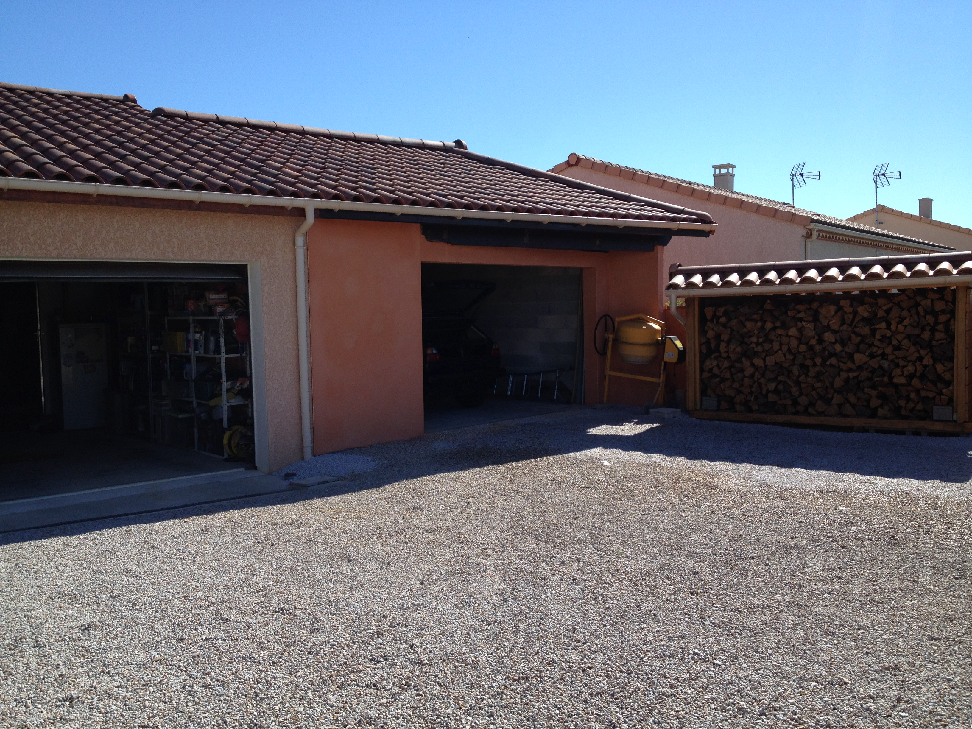 Pergola imposable ou pas for Probleme humidite garage
