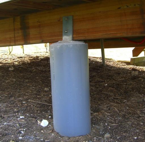 Terrasse en bois dans le 21 9 messages for Terrasse bois plot beton