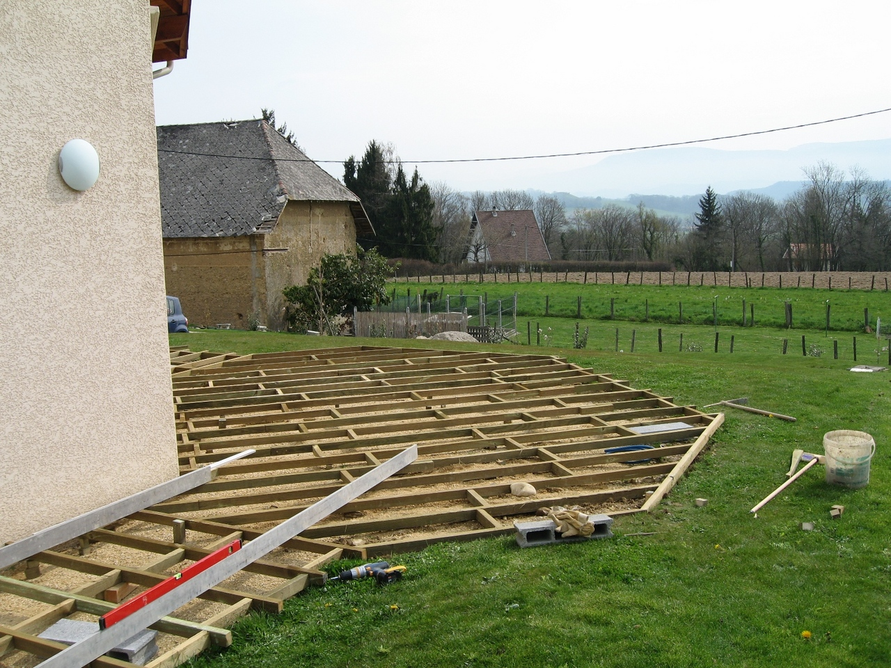 Terrasse composite 51 messages - Terrasse bois sur plot beton ...