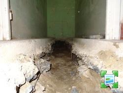 Tranchee dans dalle beton du rdc 10 messages - Reboucher trou mur beton ...