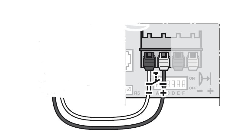 Utiliser une telecommande somfy sur motorisation tubauto for Programmation porte de garage tubauto